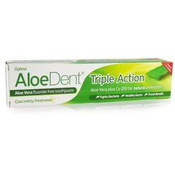 """naturalna pasta do zębów """"Potrójna Ochrona"""" bez fluoru 100ml- Aloedent"""
