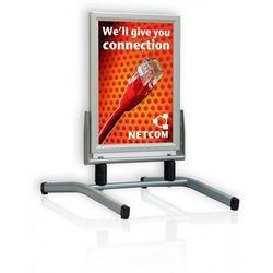 2x3 Tablica plakatowa swing master, 2 sprężyny, wodoodporna b1(700x1000mm)