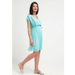 MAMALICIOUS MLNEW Sukienka letnia aqua haze z kategorii sukienki ciążowe