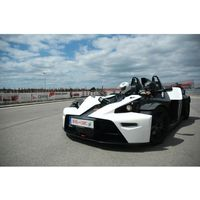 Jazda KTM X-Bow - Jastrząb k. Kielc \ 3 okrążenia