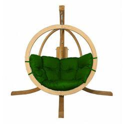 Zielony fotel wiszący jajo - parys 2x marki Producent: elior
