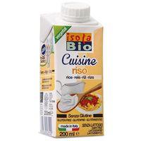 Krem ryżowy do gotowania BIO 200ml - Isola Bio