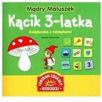 Mądry Maluszek Kącik 3-latka Książeczka z nalepkami, książka z kategorii Encyklopedie i słowniki
