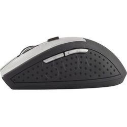 Mysz bezprzewodowa optyczna em123s 2400dpi czarny/srebrny marki Esperanza