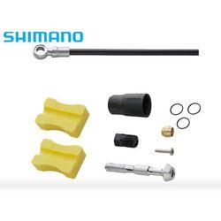 Shimano Ismbh90sbml100 przewód hamulcowy hydrauliczny  xtr (m987) sm-bh90-sbm 1000 mm przód czarny