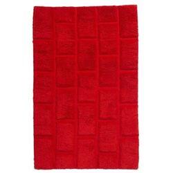 Cooke&lewis Dywanik łazienkowy managua 60 x 90 cm czerwony (3663602965534)