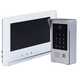 Zestaw wideodomofonu z czytnikiem RFID i szyfratorem VIDOS S20DA monitor 7'' M690 Biały