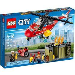 60108 HELIKOPTER STRAŻACKI Fire Response Unit KLOCKI LEGO CITY