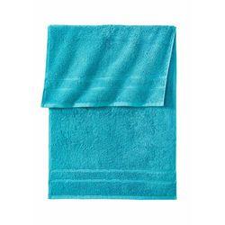 Ręczniki z ciężkiego materiału bonprix niebieskozielony morski
