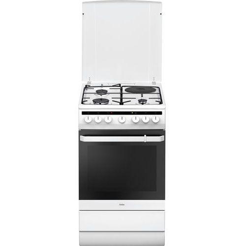 58ME438HZPMS marki Amica - kuchnia gazowo-elektryczna
