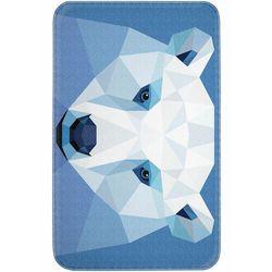 Bonprix Dywaniki łazienkowe z pianką memory niebieski