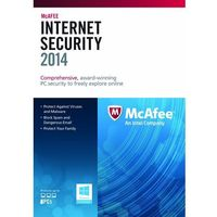 McAfee Internet Security 2015 1 PC licencja na rok