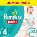 Pampers Pieluchy pants a52 maxi 4 8-14* (4015400672869)