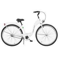 Rower DAWSTAR Retro S1B Biały + Odjazdowa oferta cenowa! + 5 lat gwarancji na ramę! + DARMOWY TR