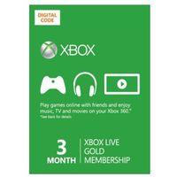 Xbox Live Gold 3 miesiące subskrypcja
