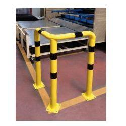 Procity Barierka do ochrony narożników kątowa 3-nożna - żółto-czarna
