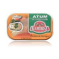 Tuńczyk portugalski duszony z warzywami w białym winie Ramirez 120g (przetwór rybny)