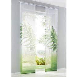 """Bonprix Zasłona panelowa """"natura"""" (1 szt.) biało-zielony"""