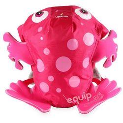 Plecaczek  swimpak 3+ frog - pink wyprodukowany przez Littlelife