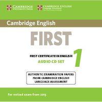 Cambridge English First 1 Audio CD's - wyślemy dzisiaj, tylko u nas taki wybór !!!