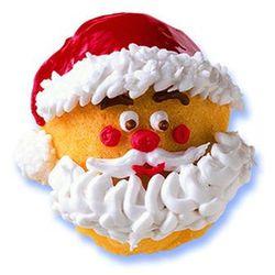 Kaiser xmas foremka świąteczna święty mikołaj non-stick marki Kaiser / x-mas kolekcje świąteczne