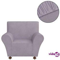 vidaXL Elastyczny pokrowiec na fotel, z dżerseju, szary (8718475962083)