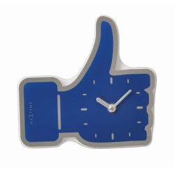 Nextime Zegar ścienny/stołowy mini thumbs up by