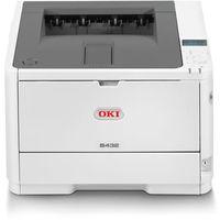 Oki  b432dn - drukarka - monochromatyczny - duplex - led - a4/legal - 1200 x 1200 dpi - do 40 str/min - pojemn