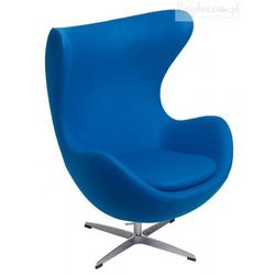 Fotel Jajo niebieski kaszmir #23