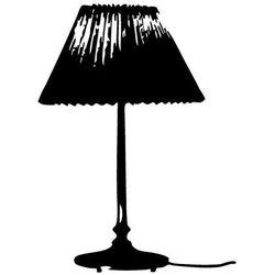 Naklejka ścienna lampka nocna marki Szabloneria