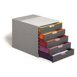 Pojemnik na dokumenty DURABLE Varicolor z 5 szufladami 7605