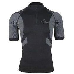 Koszulka rowerowa unisex SS10410 Brubeck (Kolor: Grafitowy, Rozmiar: XL) - sprawdź w wybranym sklepie