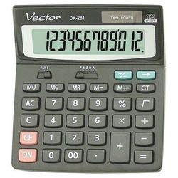 Kalkulator VECTOR DK-281 BLK (5904329496108)