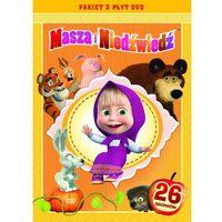 MASZA I NIEDŹWIEDŹ, PAKIET CZĘŚCI 1-3 (3 DVD)