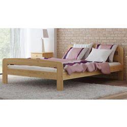 Łóżko drewniane Klaudia 140x200 z materacem piankowym