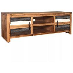 Vidaxl Szafka pod telewizor z drewna akacjowego 120 x 35 x 45 cm