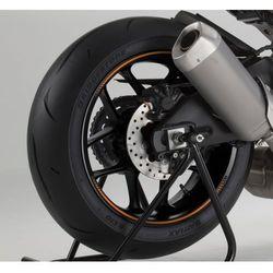 Pomarańczowe fluorescencyjne paski PUIG na felgi (wersja premium) z kategorii Pozostałe akcesoria motocyklow