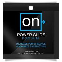 Żel stymulujący dla mężczyzn - Sensuva ON Power Glide Single Use Packet Jedna dawka