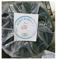 Agrowółknina ściółkujaca PP 50 g/m2 czarna 3,2 x 100 mb. Rolka złozona na 160 cm i wadze 17,3 kg., PP 50