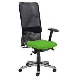 Krzesło obrotowe montana hb lu r15g steel11 chrome - biurowe, fotel biurowy, obrotowy marki Nowy styl