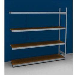 Regał wtykowy o dużej pojemności z półkami z płyty wiórowej, wys. 2500 mm, szer.