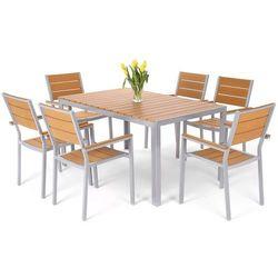 Meble ogrodowe HOME&GARDEN 537457 Salvador aluminiowe Srebrny - sprawdź w wybranym sklepie