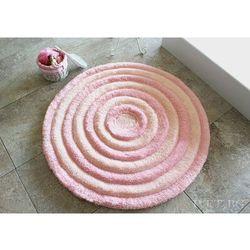 Dywanik łazienkowy ROUND PINK