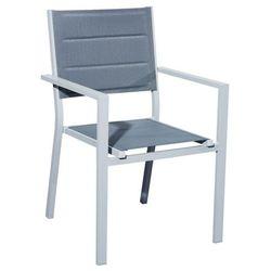 Krzesło ogrodowe Denver szary
