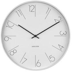 Karlsson :: zegar ścienny elegant numbers biały