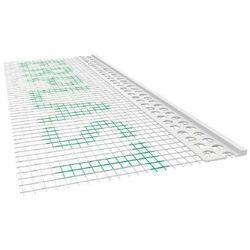 Listwa pcv zakończeniowa odcinająca z siatką a=100mm b=3mm l=2,5mb - pakiet 50szt. marki Emaga
