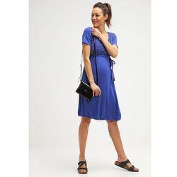 MAMALICIOUS MLLASSY Sukienka z dżerseju deep ultramarine z kategorii sukienki ciążowe