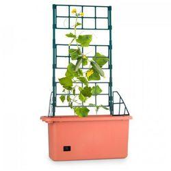 tomato power planter pojemnik do hodowli roślin 75x130x35cm 3-poziomowa podpora pp mobilny marki Waldbeck