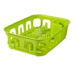 CURVER SUSZARKA DO NACZYŃ PROSTOKĄTNA ESSENTIALS - Zielony - produkt z kategorii- Suszarki do naczyń