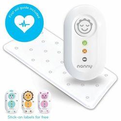 Monitor oddechu nanny plus gratis nebulizator - wyrób medyczny na bezdech wcześniaków i niemowląt marki Jablotron a.s.